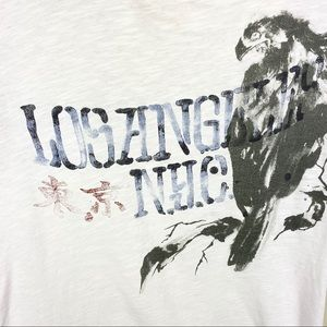 Lucky Brand Shirts - Lucky brand graphic tee Los Angeles eagle n.y.c